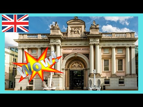 LONDON: EXPLORING the NATIONAL MARITIME MUSEUM in GREENWICH, top exhibits