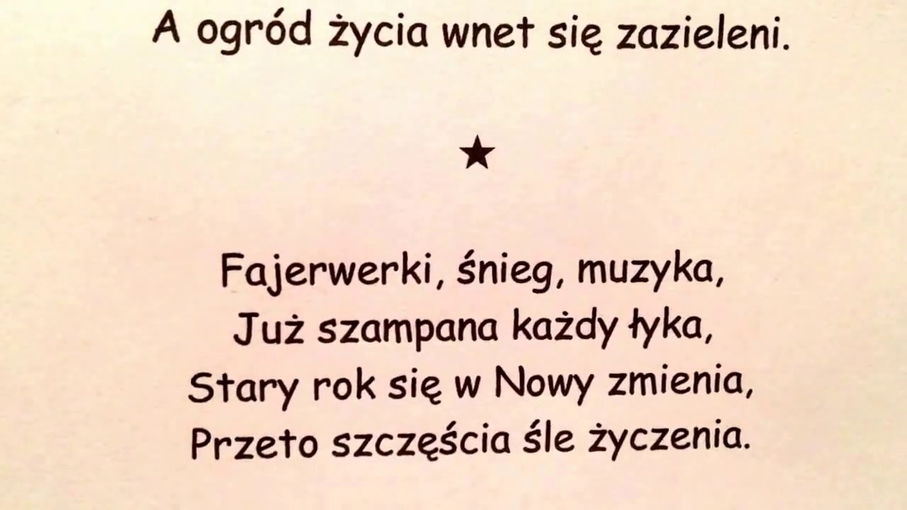 new years wishes in polish