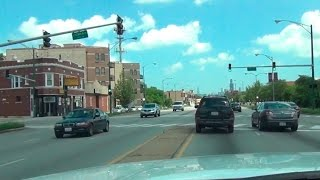 Driving around in Chicago - northern/western suburbs - POV
