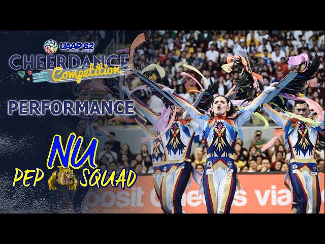 NU Pep Squad Full Performance | UAAP 82 CDC