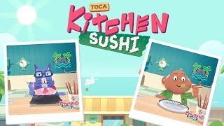 Toca Kitchen Sushi   Seaside Restaurant Game (Android Gameplay)   Cute Little Games