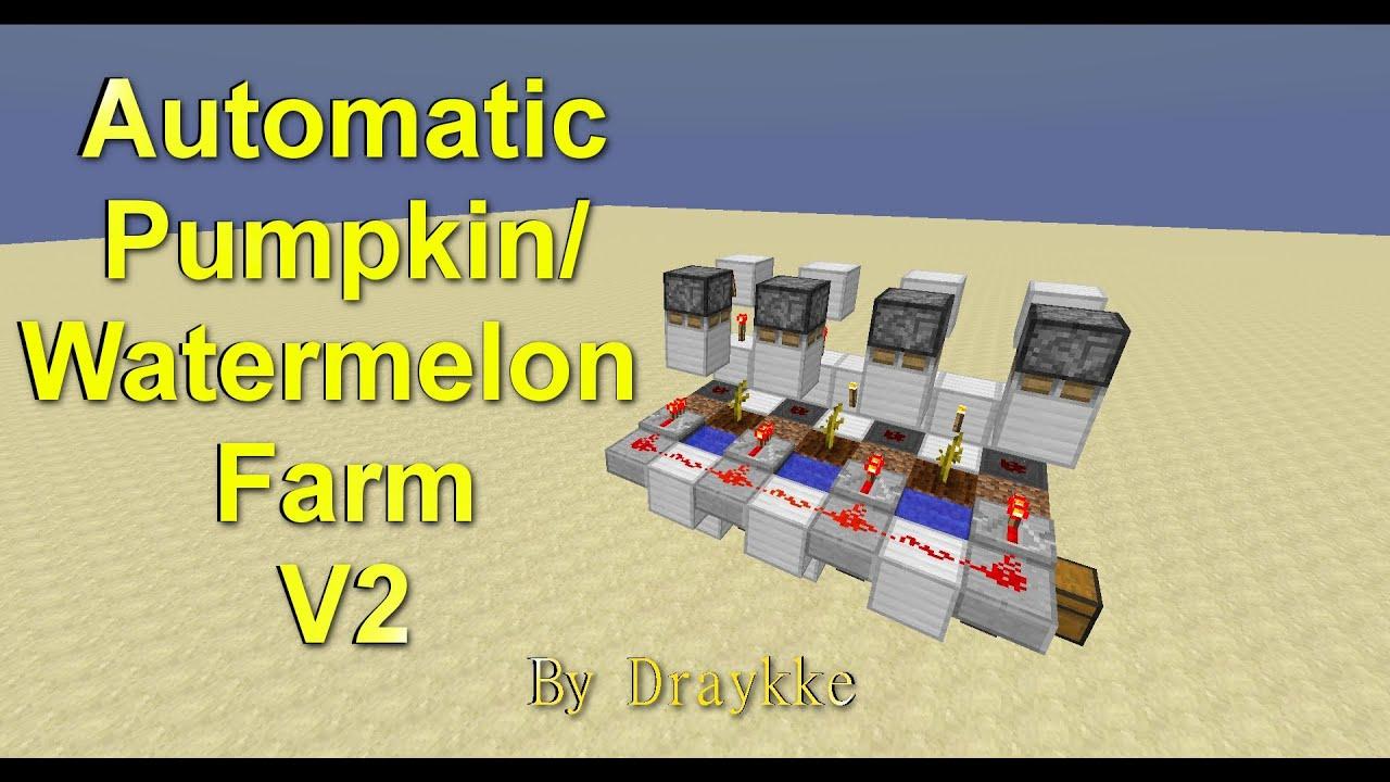 how to build an automatic melon farm