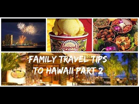 Family Travel Tips to Hawaii 2