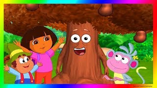Dora and Friends The Explorer Cartoon 💖 The Chocolate Tree Adventure Gameplay as a Cartoon !