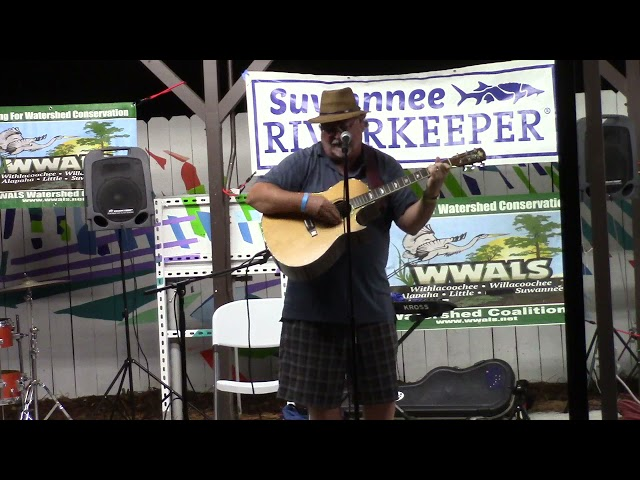 Scott Perkins singing Hoochie Coochie for the Withlacoochee, in the 2020 Suwannee Riverkeeper Songwriting Contest