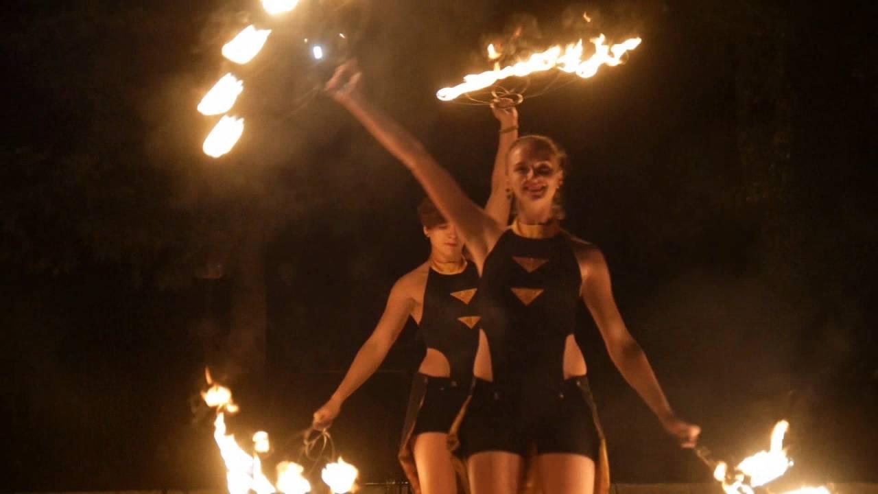 Фаер шоу г. Сумы Fire show