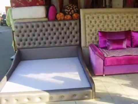 tapissier agadir 2012 salon marocain - YouTube