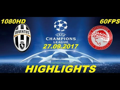 Juventus Vs Olympiacos 2 0 Highlights Hd Champions League