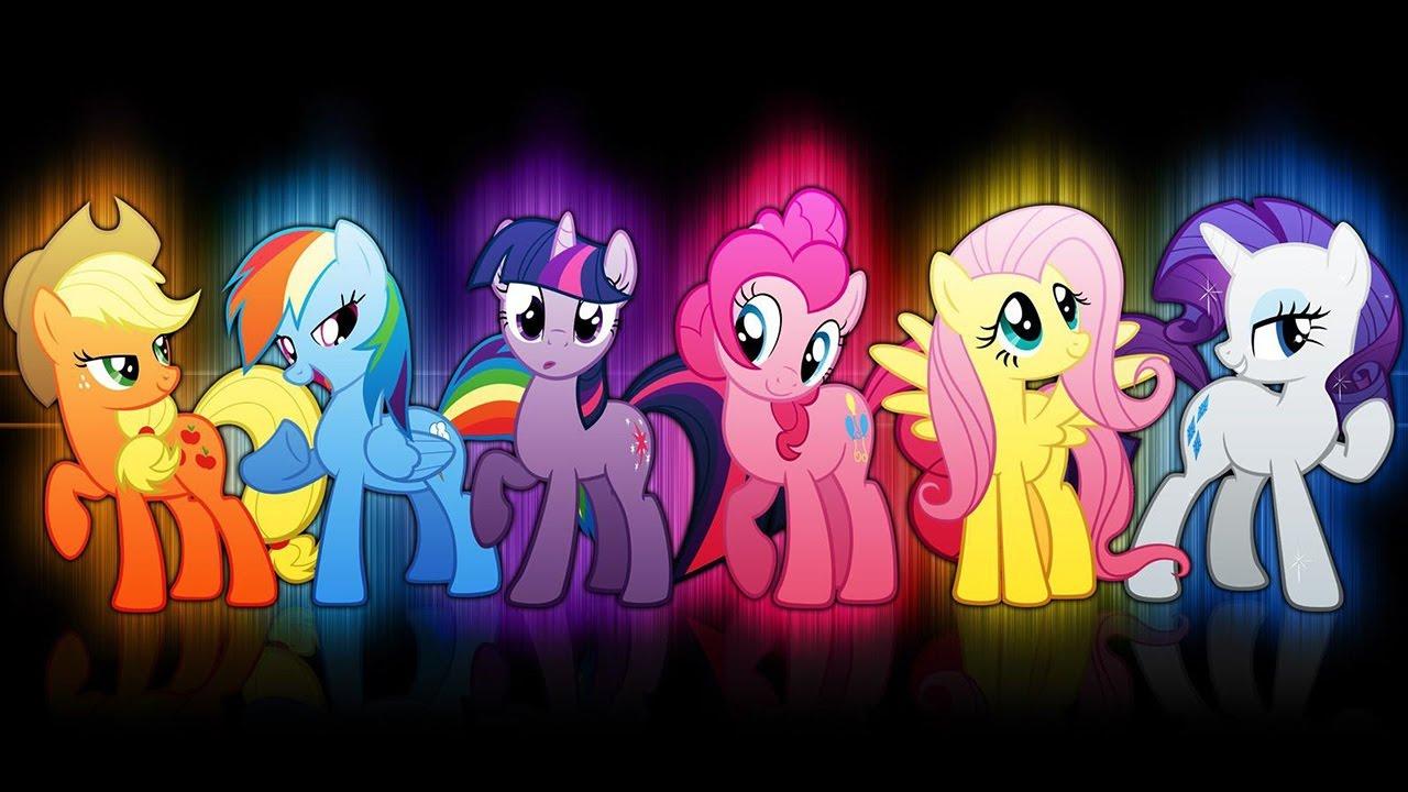 My Little Pony Applejack And Rainbow Dash