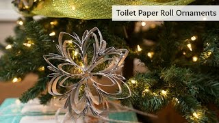 Toilet Paper Roll Ornament