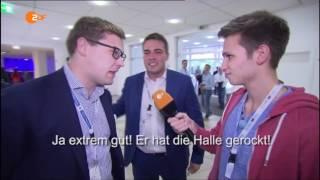 Fabian Köster zu Besuch auf dem Deutschlandtag der Jungen Union 2016