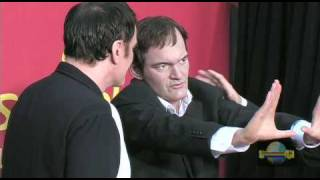Quentin Tarantino Gets Waxed!