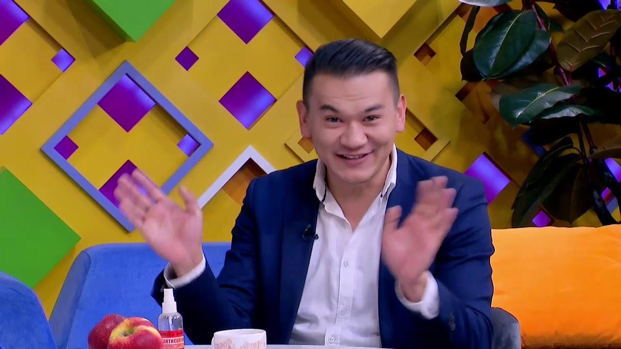 """В эфире """"Таңғы студио"""" актер Бахтияр Байсерик (05.11.20)"""