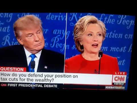 Drunk Debate Clinton Trump
