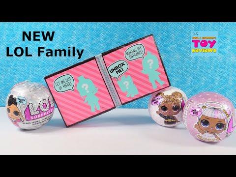 LOL Surprise Dollhouse New Family & Glitter Palooza Doll Opening | PSToyReviews