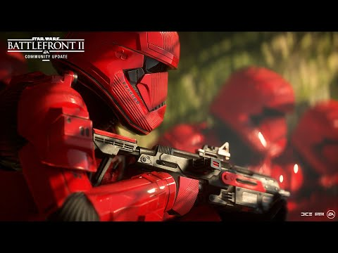 Star Wars Battlefront 2 Sith Trooper Ajan Kloss Bb 8 And More Community Update Youtube