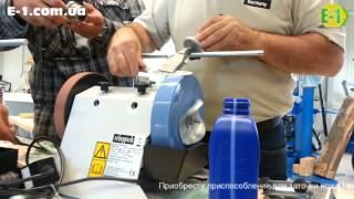 Видео обзор: приспособление для заточки ножей Scheppach(Тест проведён специалистом компании Scheppach и снят нашим менеджером