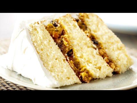 Anna Olson Bakes INCREDIBLE Southern Lane Cake!