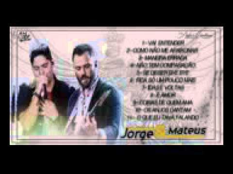Cd - Jorge e Mateus Os Anjos Cantam