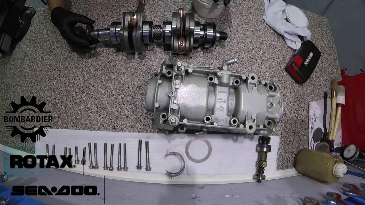 cigüeñal motor rotax 720 sea doo