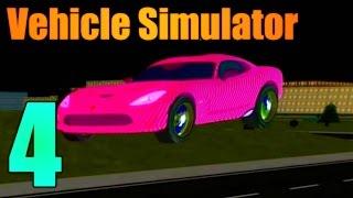 [ROBLOX: Vehicle Simulator] - Lets Play Ep 4 - FallenFalcon's Dodge Viper!