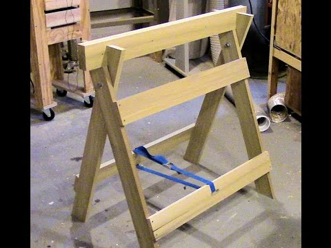 Shopdog Sawhorse Plans Free