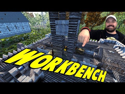 Workbench   WotW   7 Days To Die Alpha 16 Let's Play Gameplay PC   E05