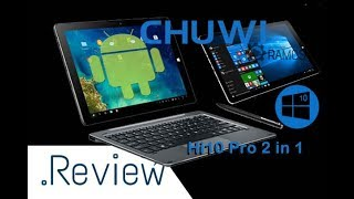 💥CHUWI Hi10 Pro o 2 em 1 Tablet PC com Android e Windows 10 🎯 Análise - Review