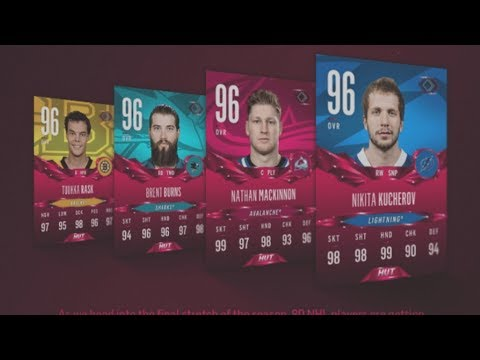 I NEED MONEYYY!! RUBY CARDS PACK OPENING!! NHL 18 HUT