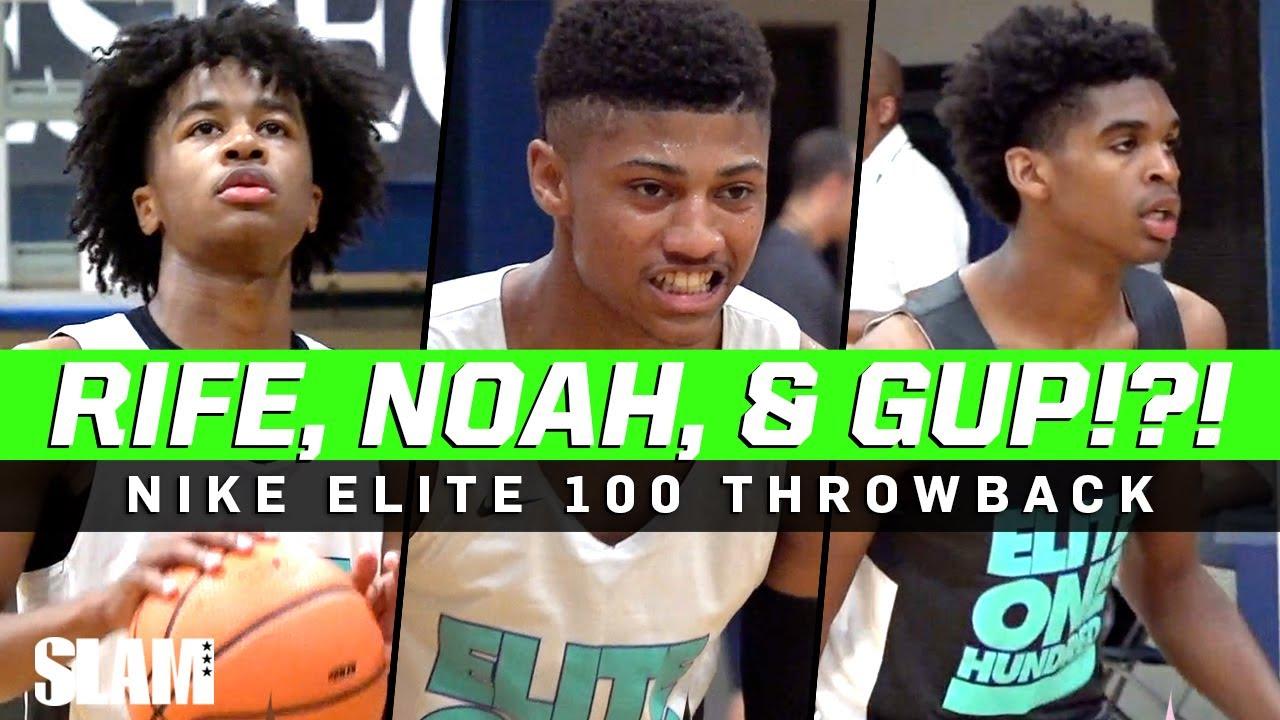 Sharife Cooper & Josh Christopher Team Up⁉️🔥 Nike Elite 100 Throwback