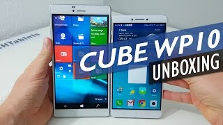 cube WP10 Unboxing And First Look - 6.98