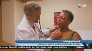 شاهد.. أمراض القلب سبب رئيسي للوفاة في 19 دولة منهم مصر
