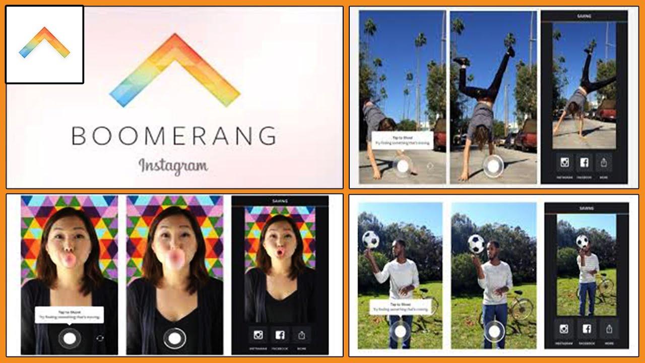 Resultado de imagen de boomerang instagram