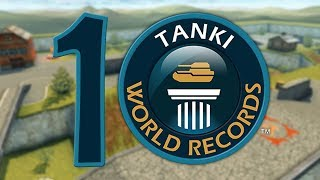 Tanki Online Top 10 World Records! танки Онлайн