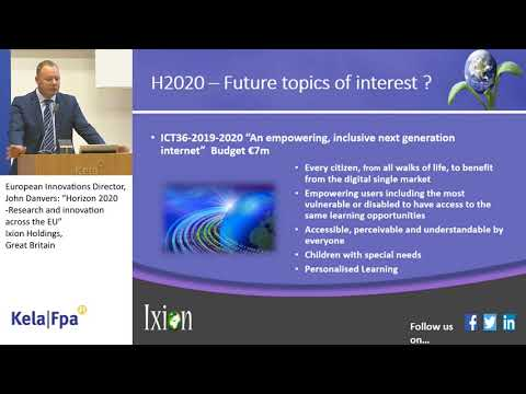 Horizon 2020 – Research and innovation across the EU