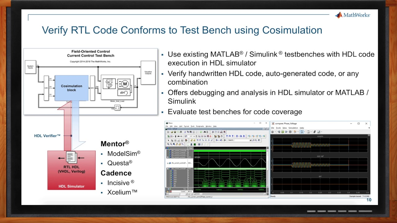Debug and Verify FPGA Algorithms with MATLAB and Simulink