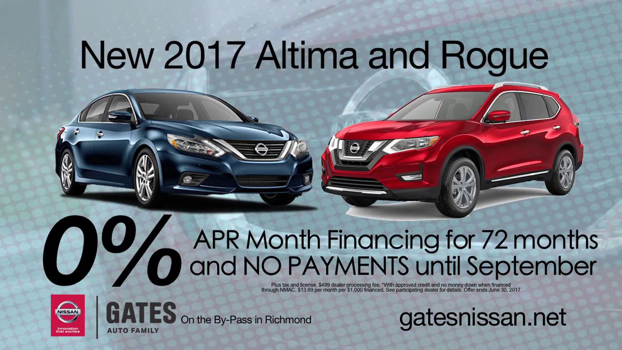 2017 Nissan Altima And Rogue   Located At Gates Nissan Near Richmond, KY