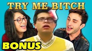 Teens React to Try Me Bitch Vine Compilation (Bonus #107)