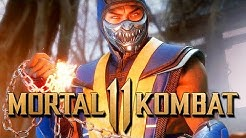 Mortal Kombat 11 Scorpion Retro Gameplay German The Klassic Tower