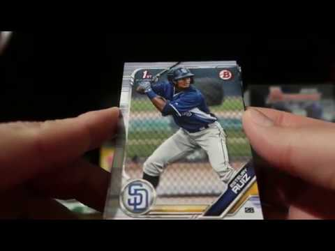2019 Bowman Retail From Target