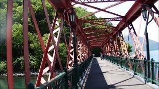 北海道苫小牧~支笏湖間をつないでいた王子軽便鉄道の山線鉄橋を歩く