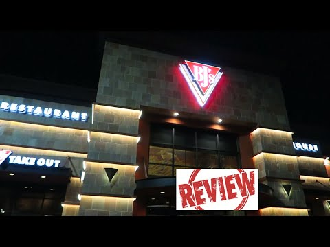BJ's Brewhouse Restaurant Anaheim CA Review