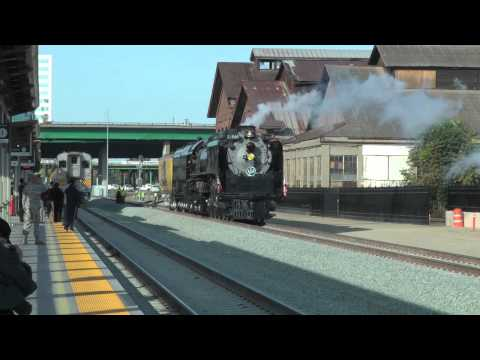 UP 844 Departs Sacramento, October 4, 2012