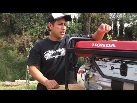 Duomaquinaria Mantenimiento y reparación |Generador Honda ER2500CX