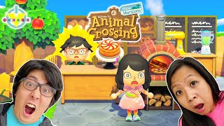 Animal Crossing Island Tour with Ryan's Daddy and Mommy. First time revealing Ryan's Daddy's Island!