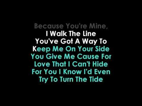Halsey  I Walk The Line karaoke