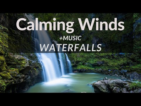 Waterfalls - Anxiety Relief, PTSD, Insomnia, Worry