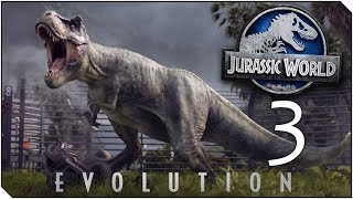 JURASSIC WORLD EVOLUTION | Capitulo 3 | El RevePark está descontrolado - RISAS xD