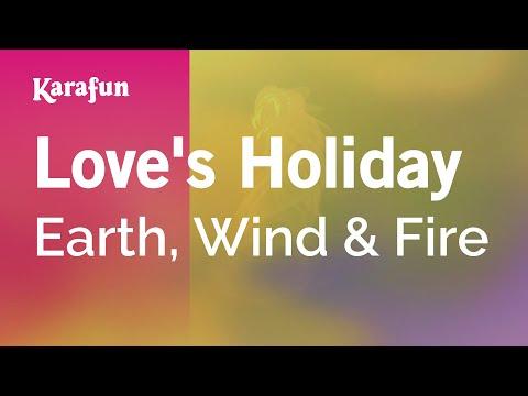 Karaoke Love's Holiday - Earth, Wind & Fire *