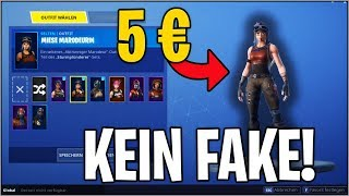I BUY An ACCOUNT WITH *RANDOM* SKINS (MIESE MARODEURIN) | Fortnite | Adamas